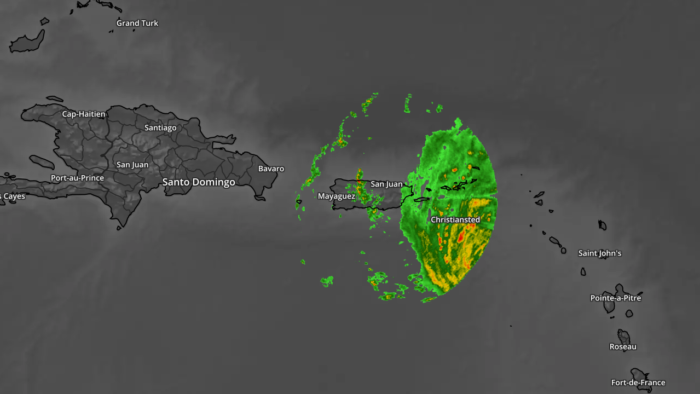 Hurricane Maria Nexrad Only