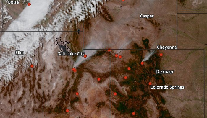 Air Quality Map and Wildfire Map Layers Available - Blog