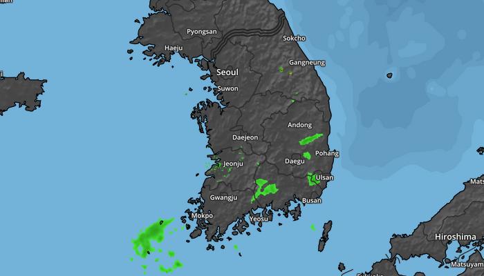 South Korean Weather Radar Example