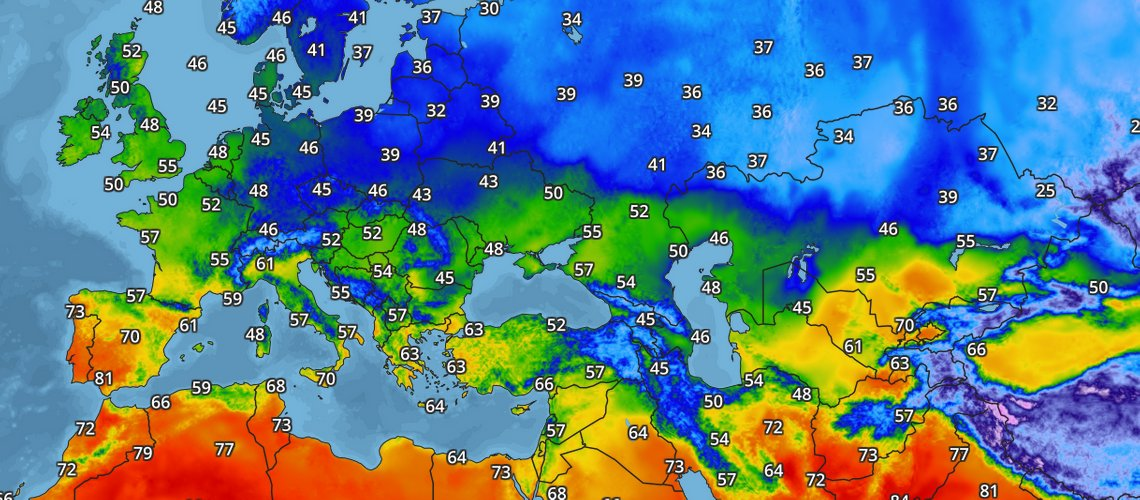 Temperature Map Goes Global - Blog - AerisWeather