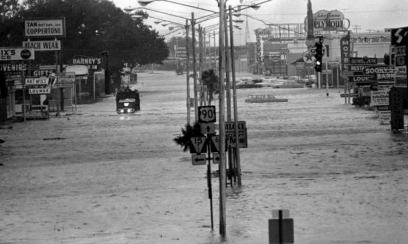 photo of flooded street