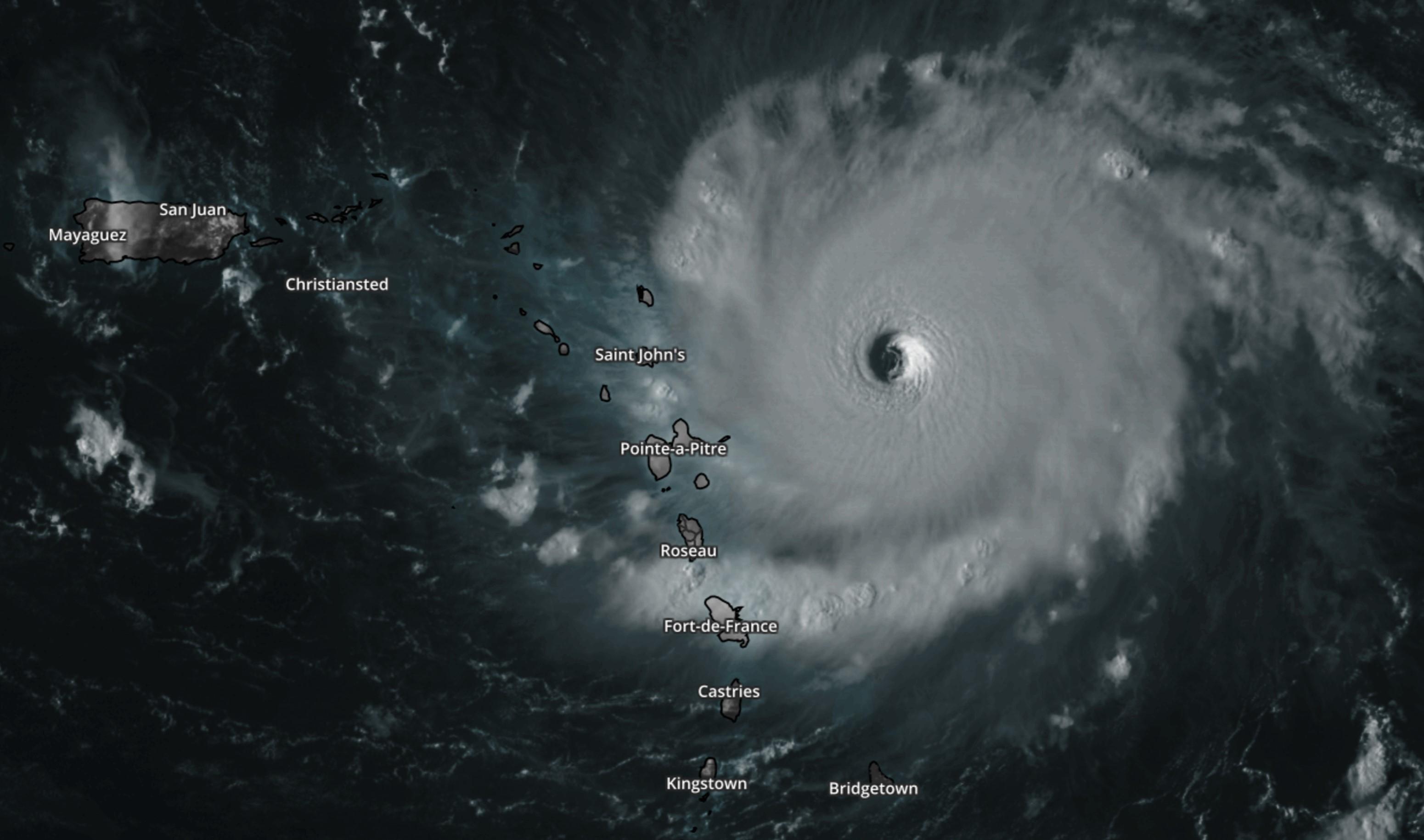 Hurricane Irna