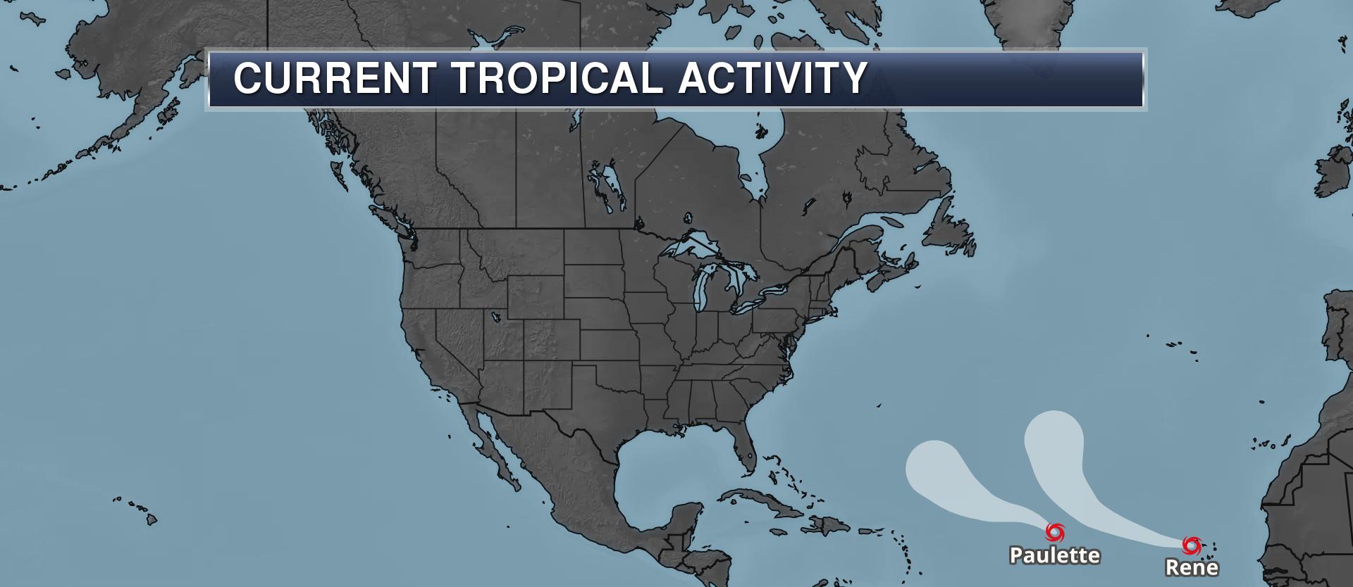 current tropical activity