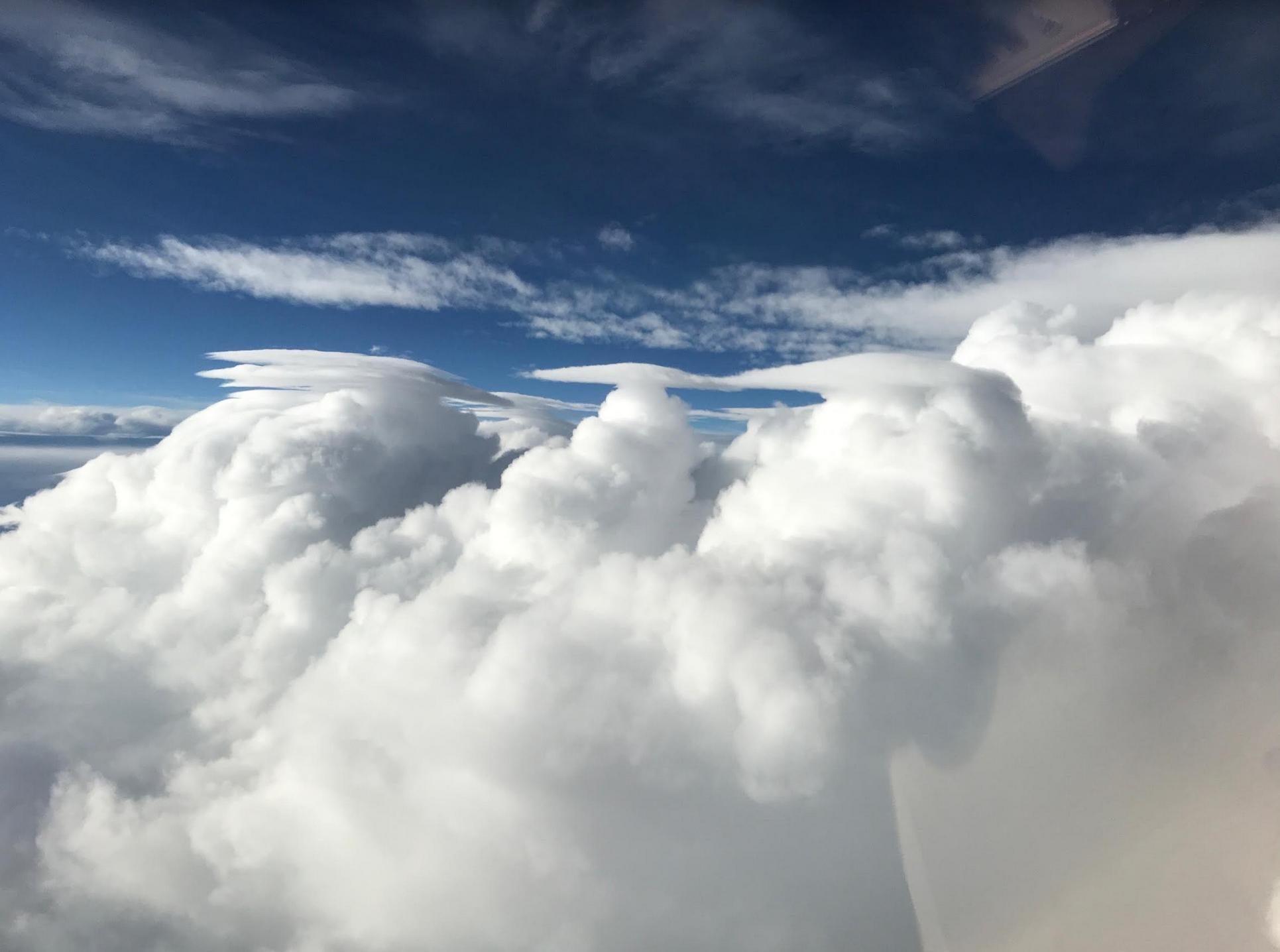 cumulonimbus pileus