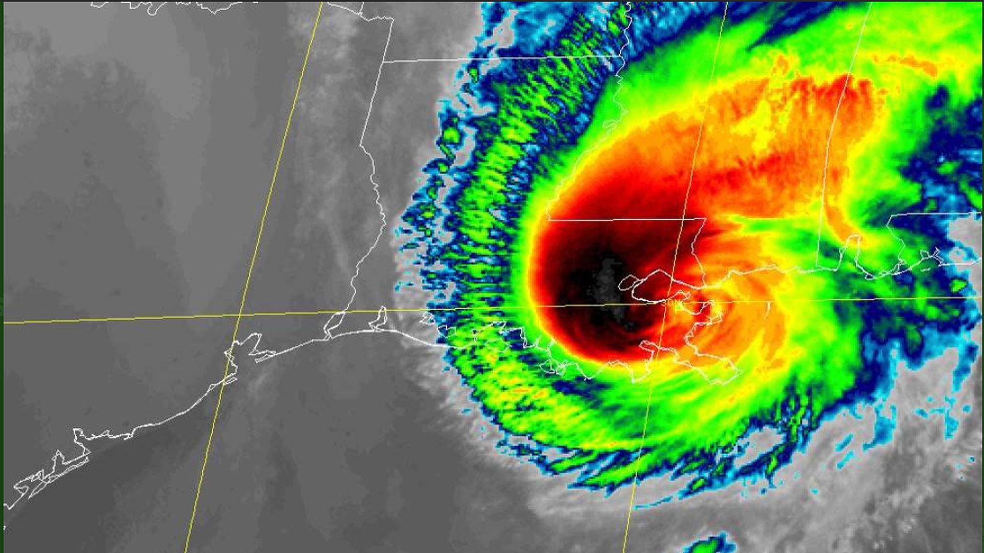 Hurricane Zeta cover