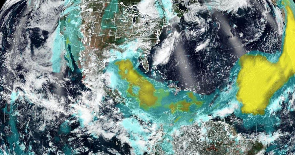 Transatlantic dust storm