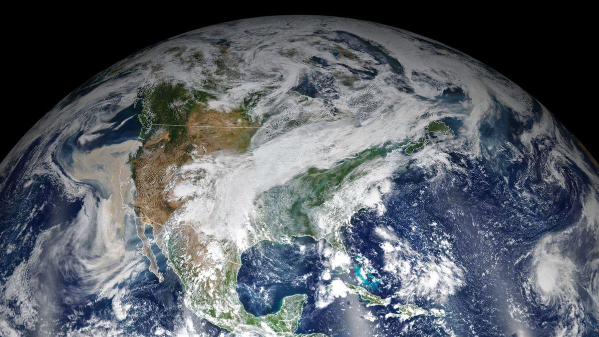 Earth from space, via NASA